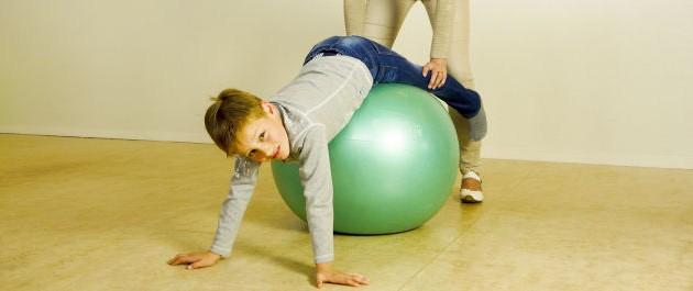 Kinderoefentherapie en orthopedie